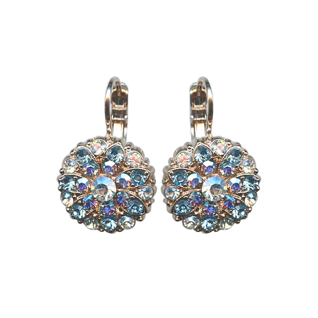 "Guardian Angel Leverback Earrings in ""Italian Ice"" *Preorder*"