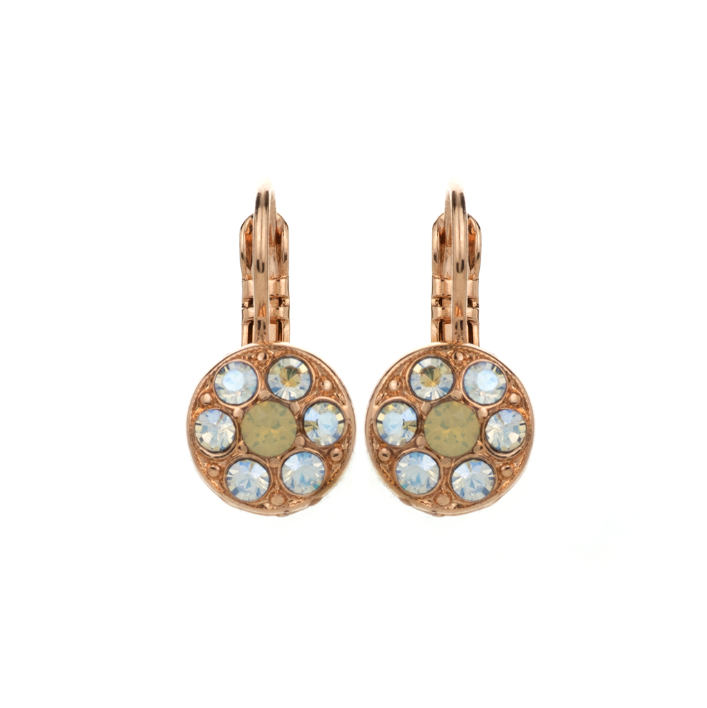 "Must-Have Cluster Leverback Earrings in ""Peace"" *Preorder*"