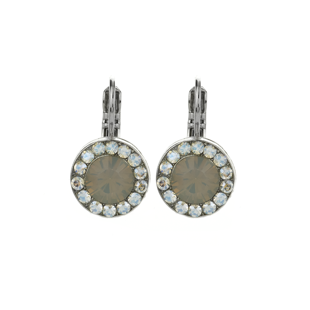 "Lovable Pave Leverback Earrings in ""Peace"" *Preorder*"