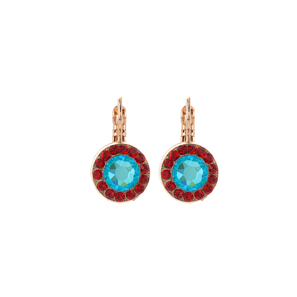 "Lovable Pave Leverback Earrings in ""Happiness"" *Preorder*"