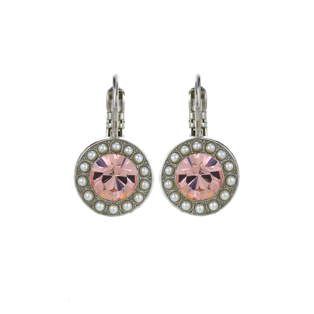 "Lovable Pave Leverback Earrings in ""Romance"" *Preorder*"