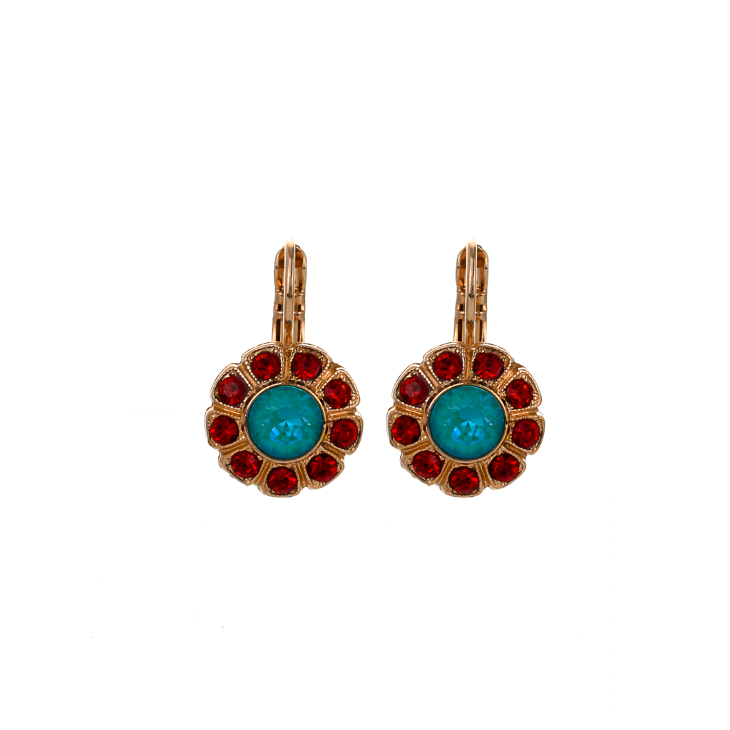 "Daisy Leverback Earrings in ""Happiness"" *Preorder*"