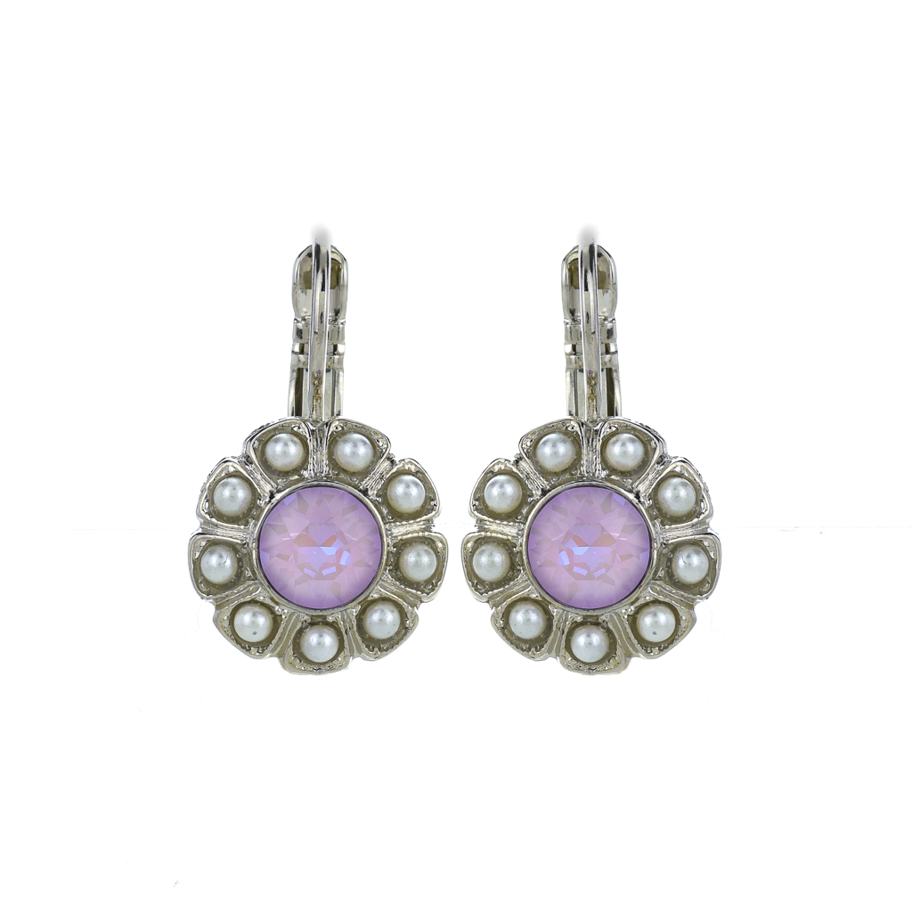 "Daisy Leverback Earrings in ""Romance"" *Preorder*"