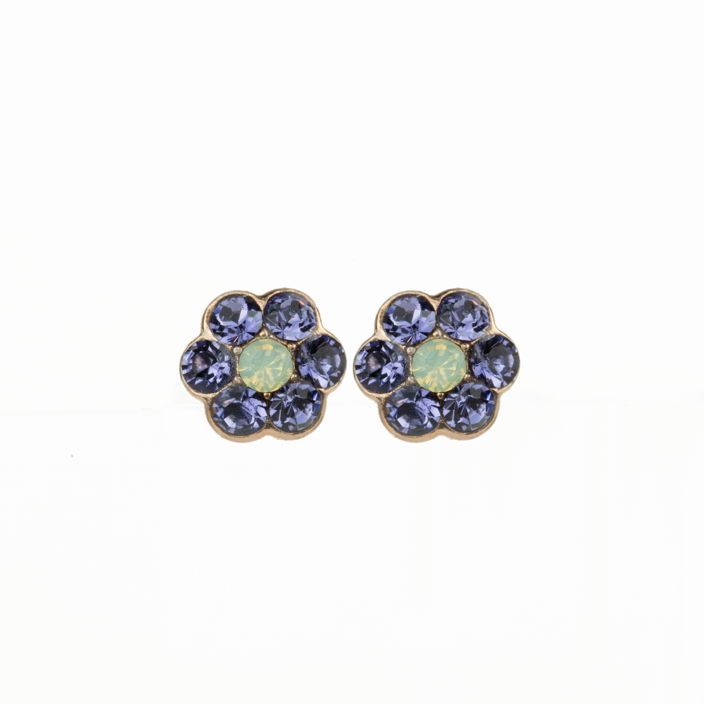 "Petite Flower Post Earrings in ""Travelara"" *Preorder*"
