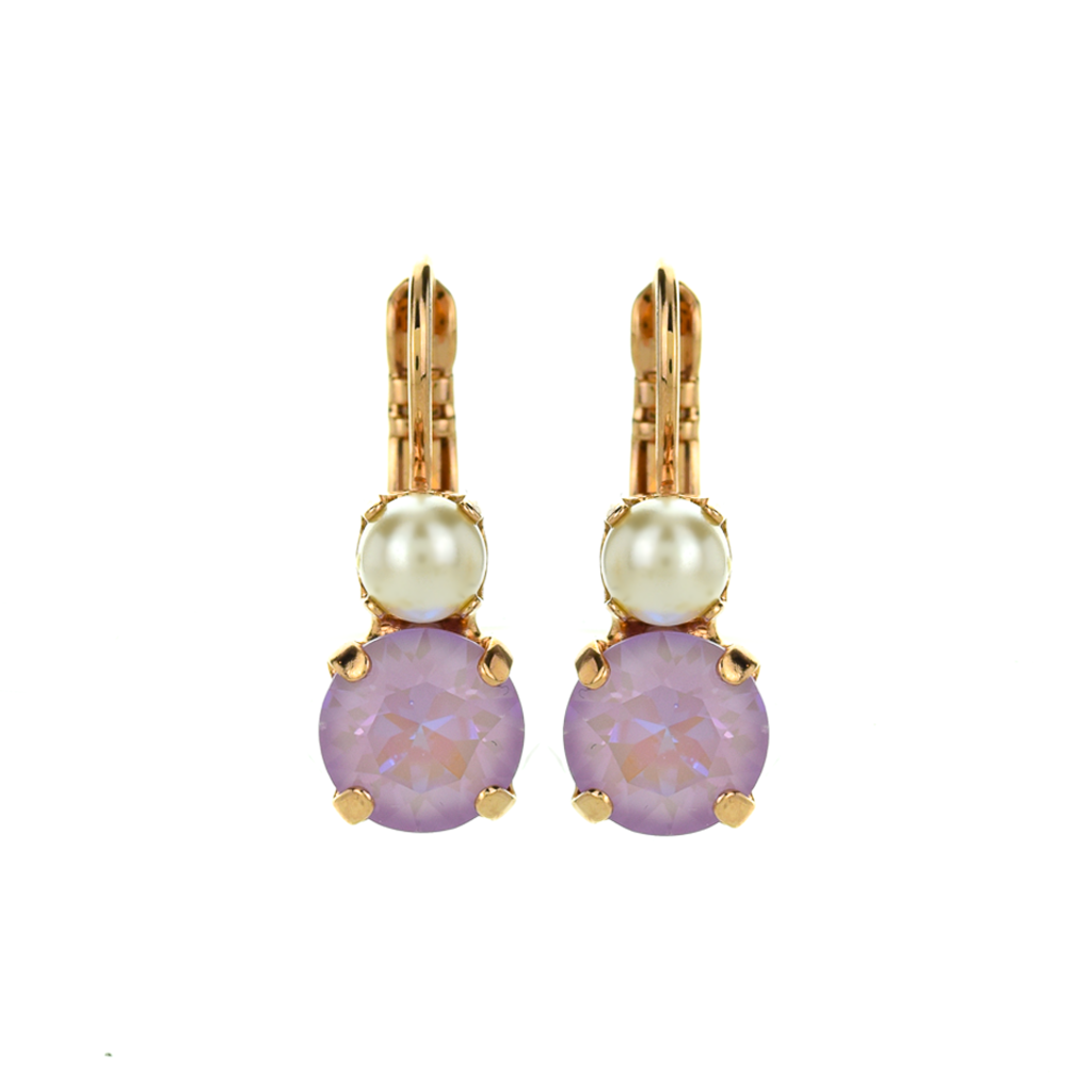 "Must-Have Double Stone Leverback Earrings in ""Romance"" *Preorder*"