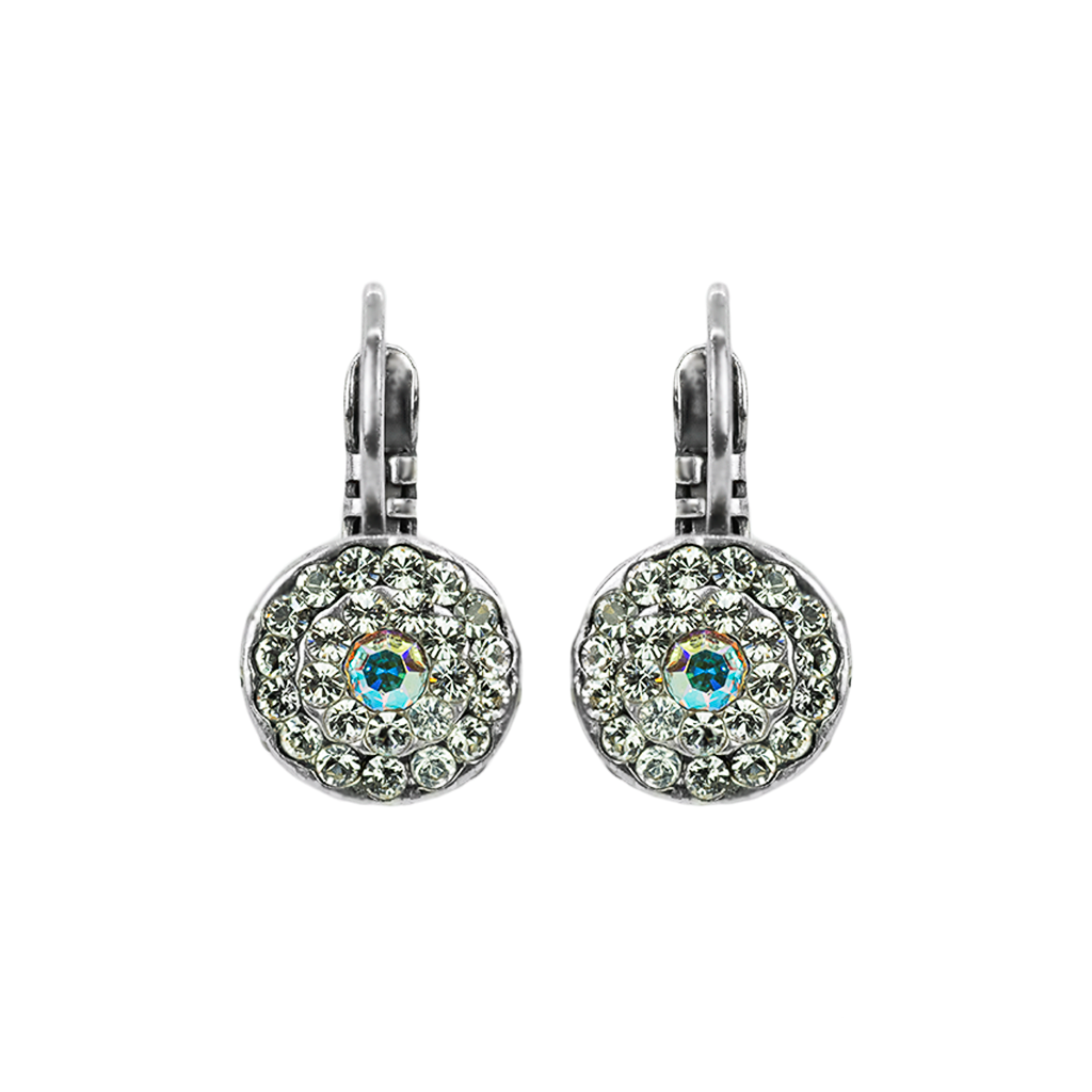 "Must-Have Pave Bridal Leverback Earrings in ""On A Clear Day"" *Preorder*"