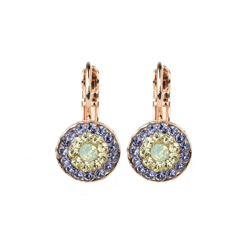 "Must-Have Pave Leverback Earrings in ""Travelara"" *Preorder*"