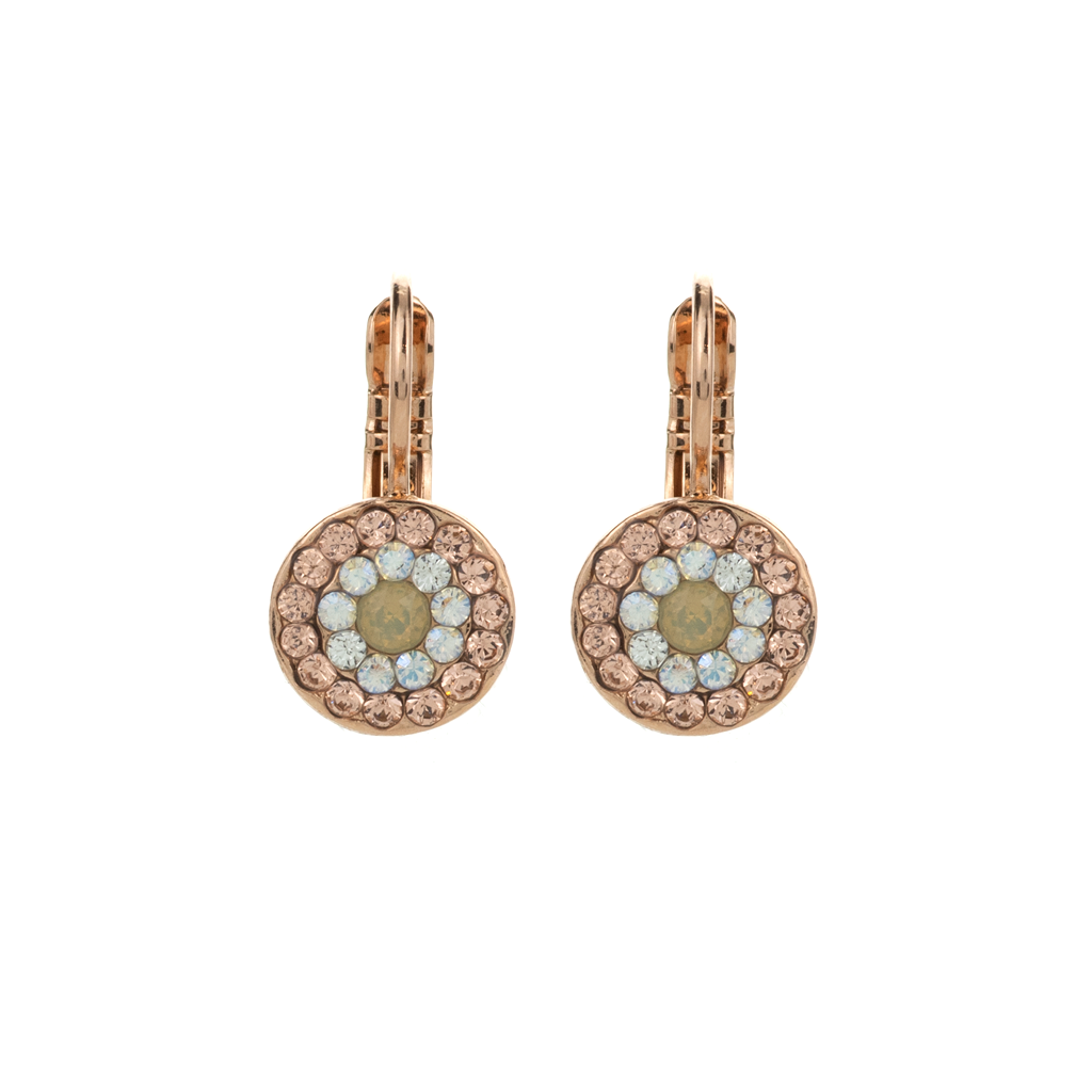 "Must-Have Pave Leverback Earrings in ""Peace"" *Preorder*"