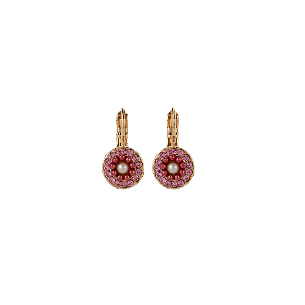 "Must-Have Pave Leverback Earrings in ""Love"" *Preorder*"