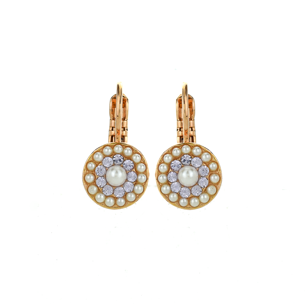 "Must-Have Pave Leverback Earrings in ""Romance"" *Preorder*"