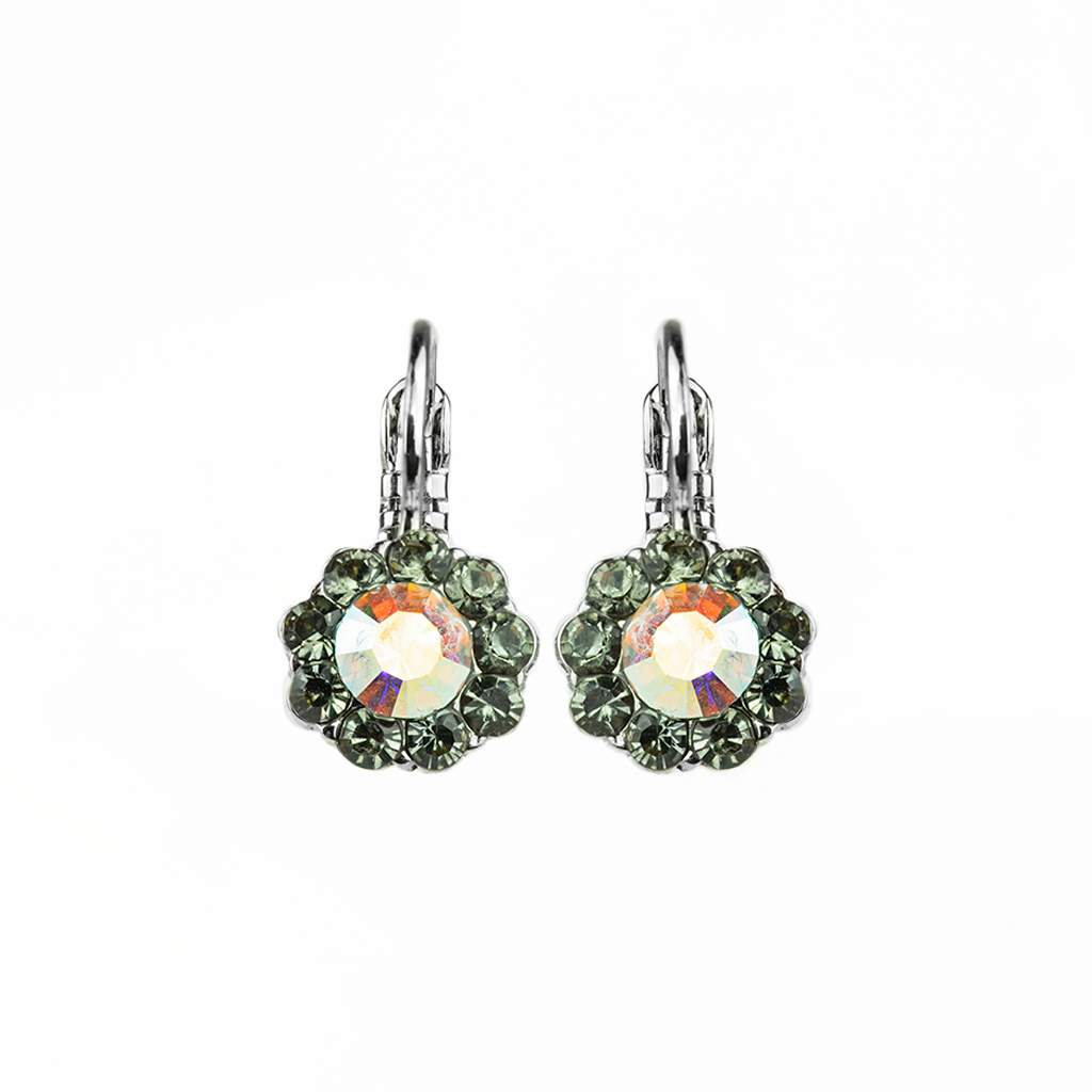 "Must-Have Flower Leverback Earrings in ""Painted Lady"" *Preorder*"