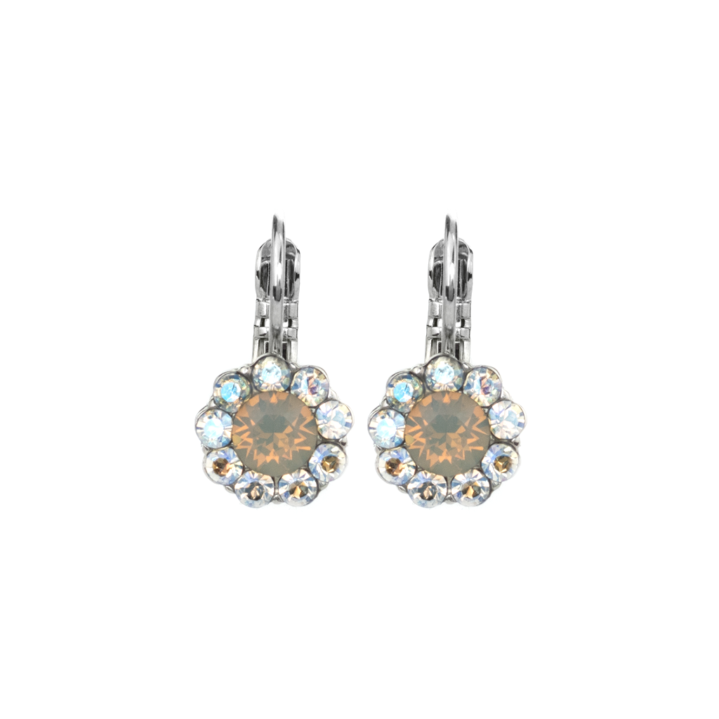 "Must-Have Flower Leverback Earrings in ""Peace"" *Preorder*"