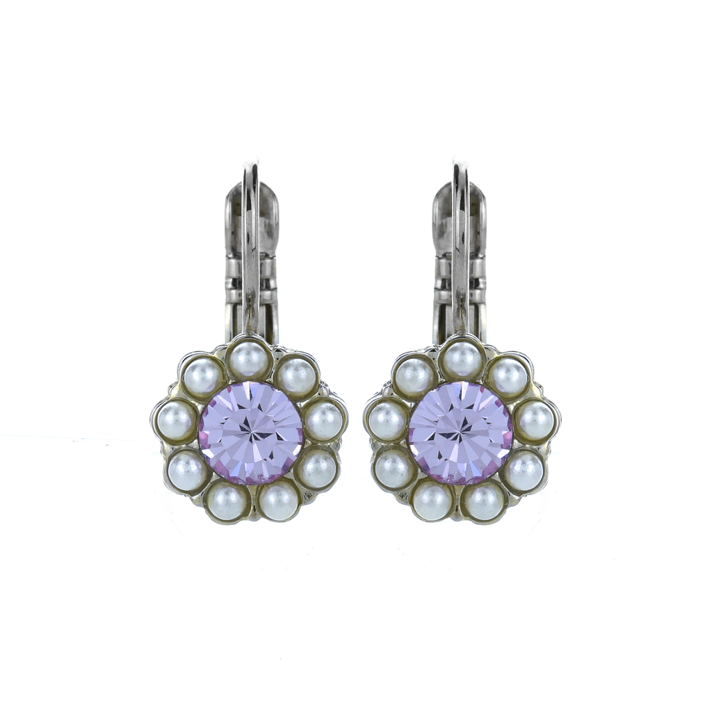 "Must-Have Flower Leverback Earrings in ""Romance"" *Preorder*"