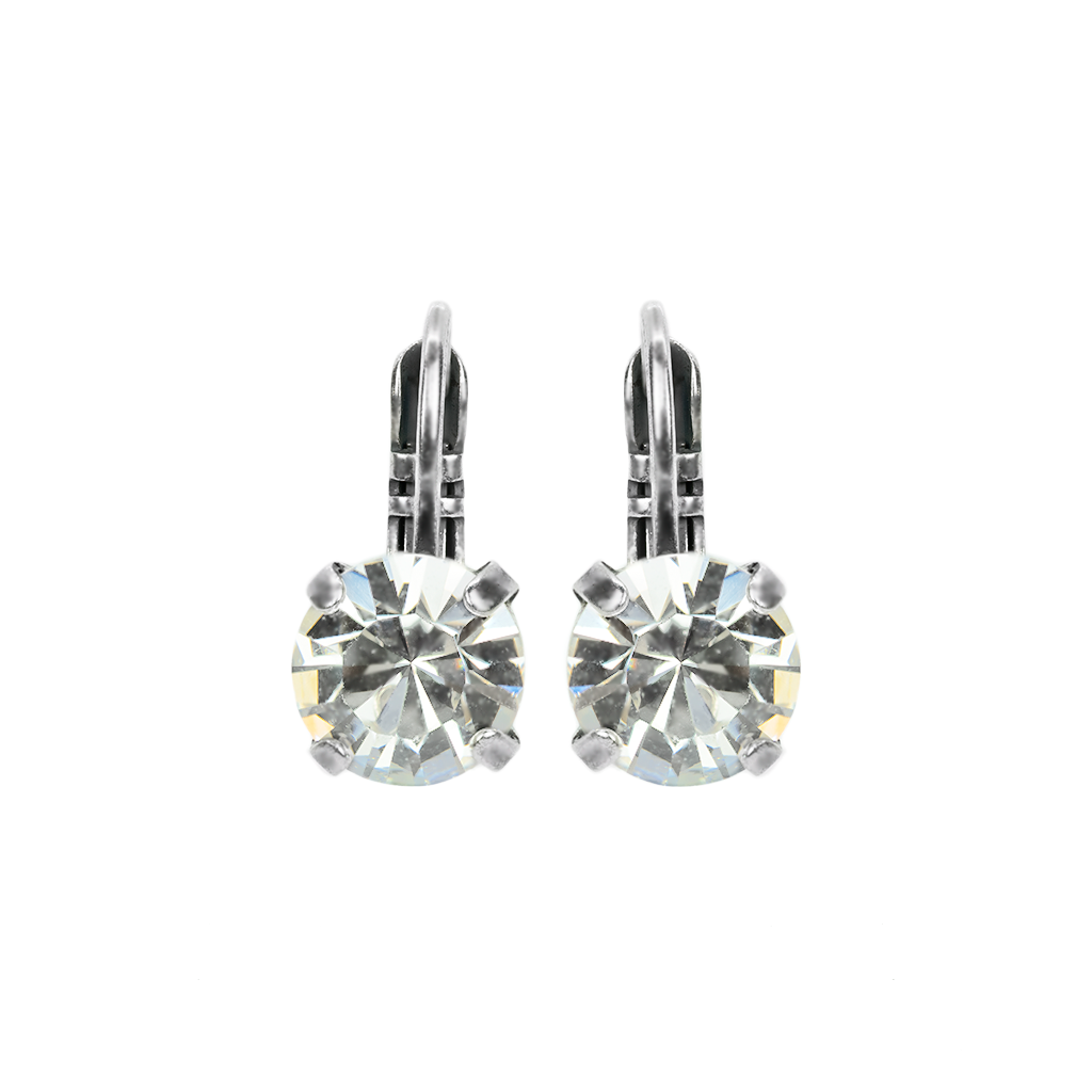 Must-Have Leverback Earrings in Clear *Preorder*