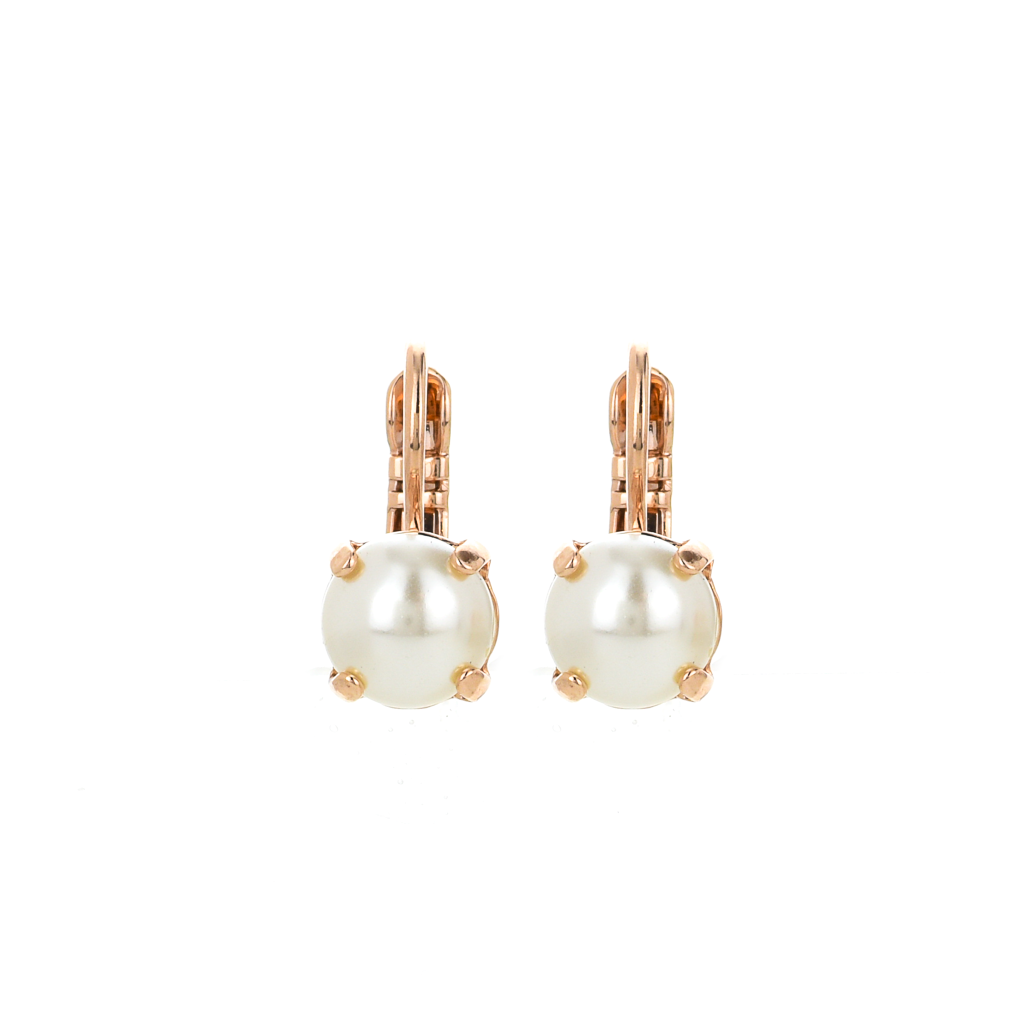 Must-Have Everyday leverback Earrings in Pearl *Preorder*