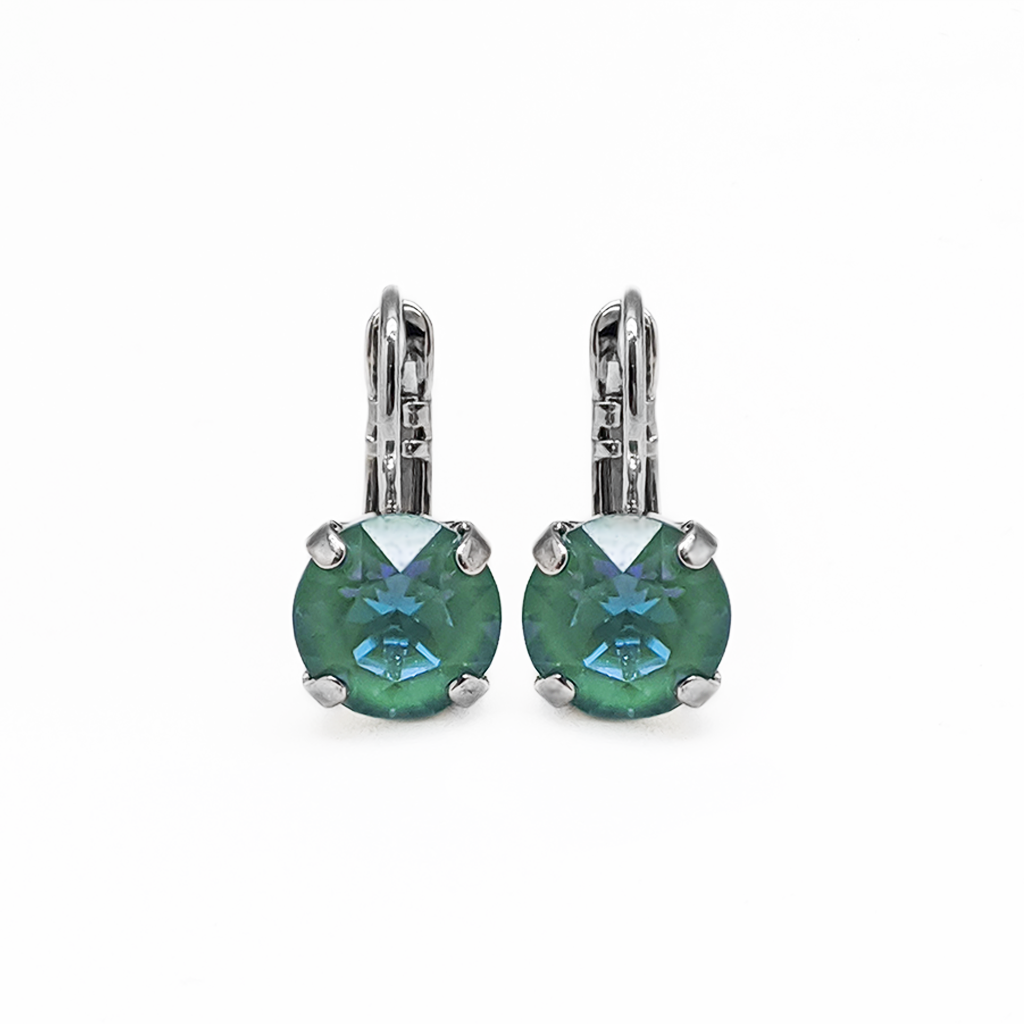 "Must-Have Everyday Leverback Earrings in Sun-Kissed ""Jade"" *Preorder*"
