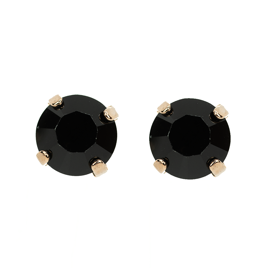 Must-Have Everyday Post Earrings in Jet Black *Preorder*