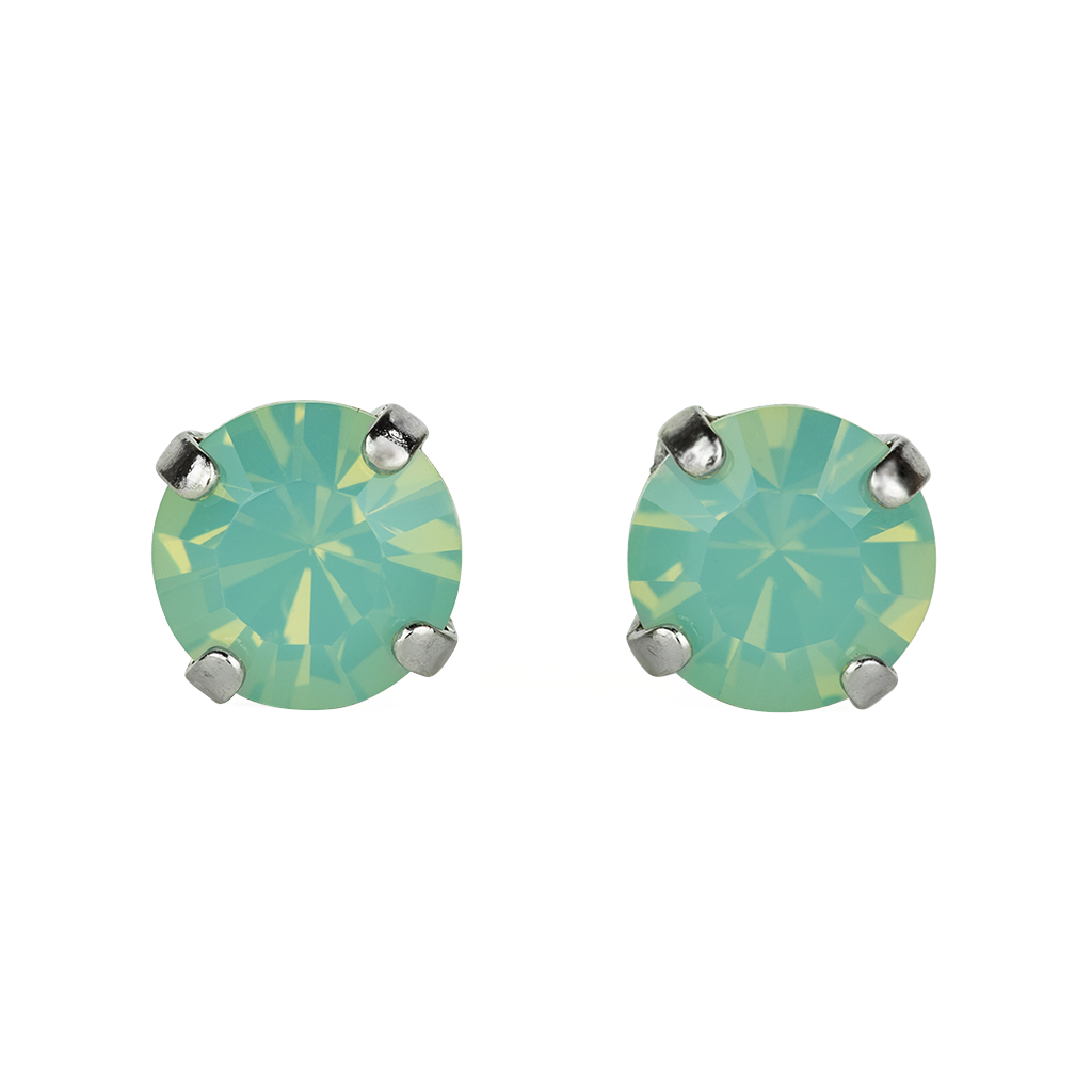 [Rhodium] Must-Have Everyday Studs in Pacific Opal