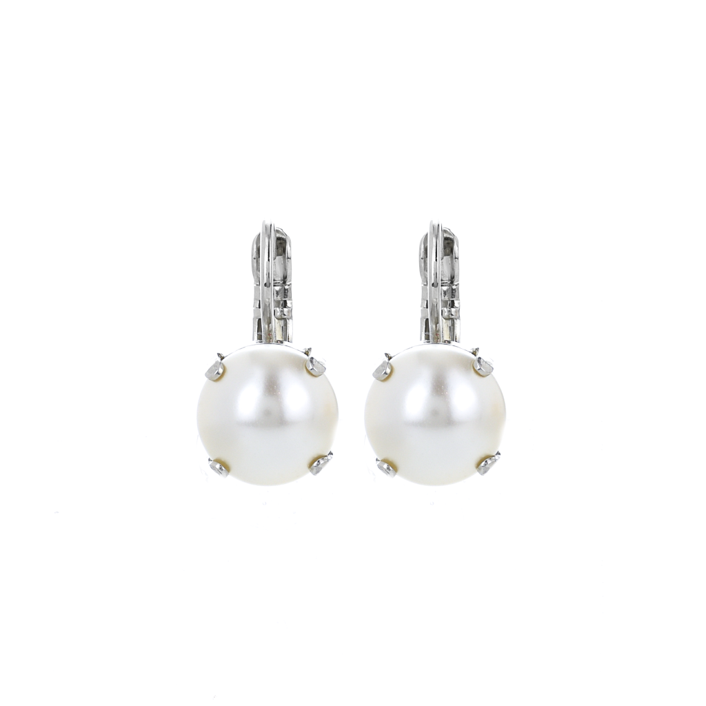 Lovable Leverback Earrings in Pearl *Preorder*