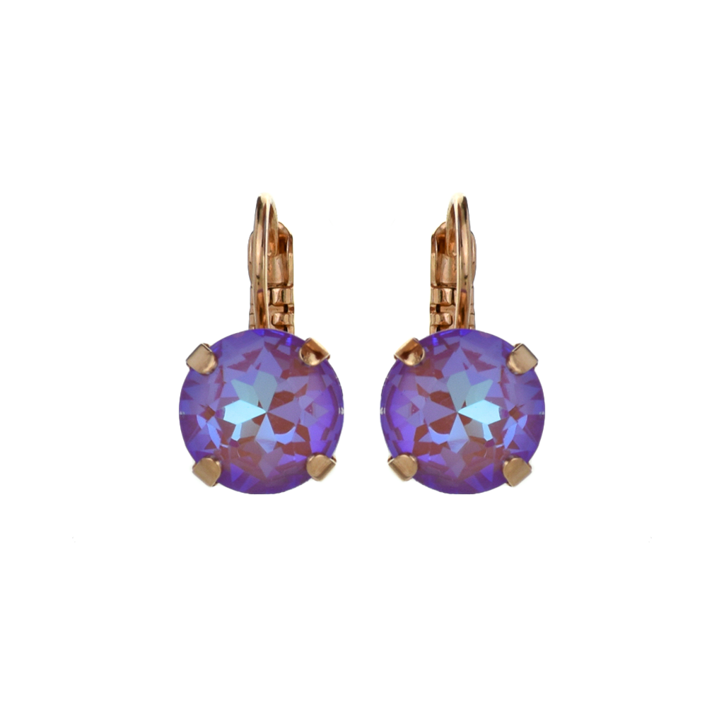 "Lovable Leverback Earrings in Sun-Kissed ""Lavender"" *Preorder*"