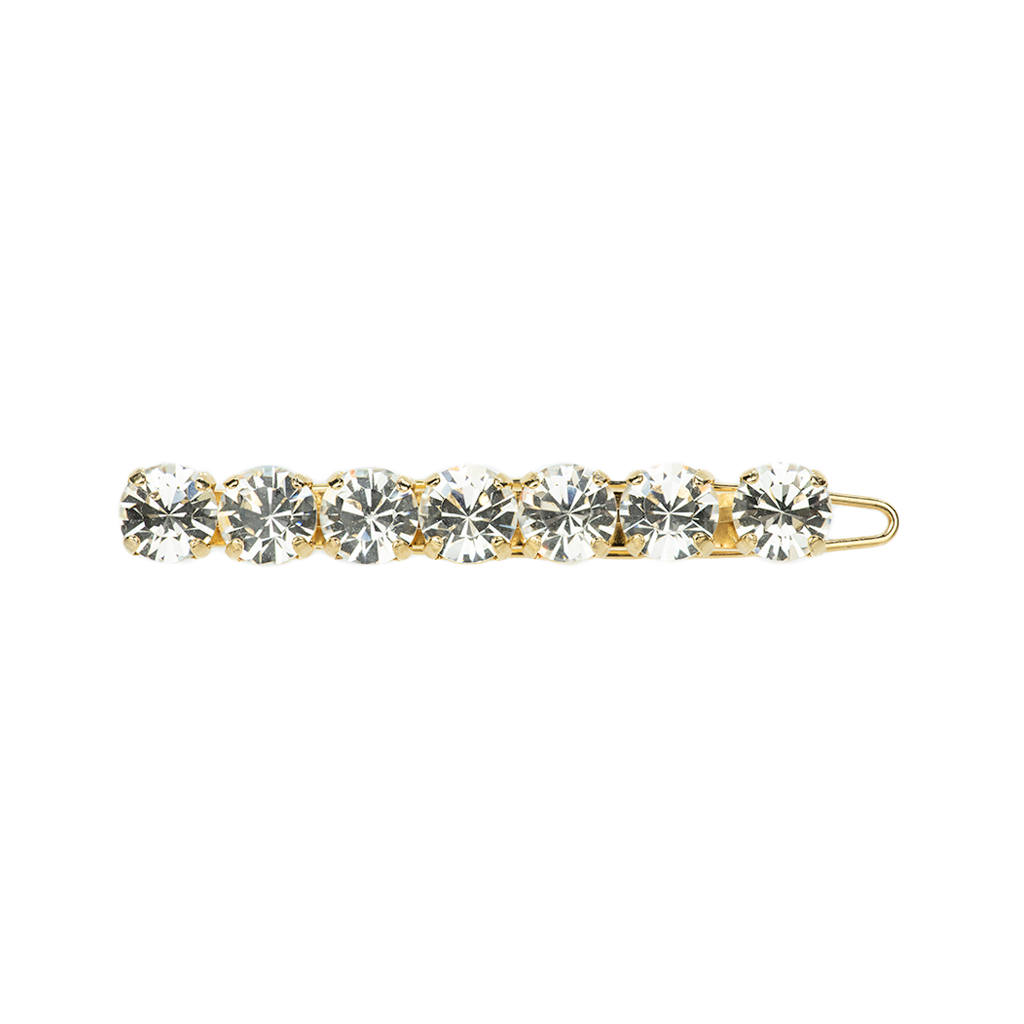 Must-Have Bridal Hairpin in Clear - Yellow Gold