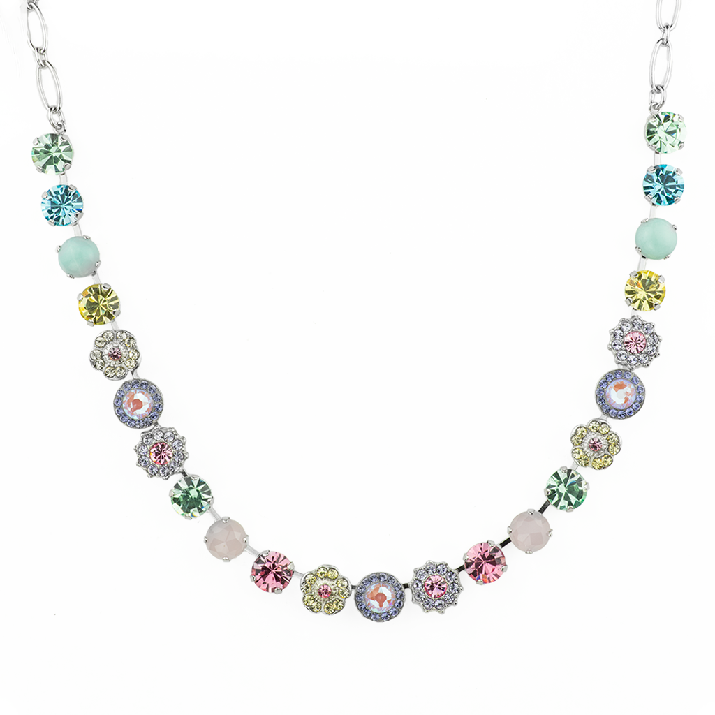 "*Preorder* Lovable Rosette Necklace in ""Travelara"""