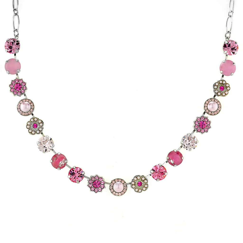 "Lovable Flower Necklace in ""Love"" *Preorder*"
