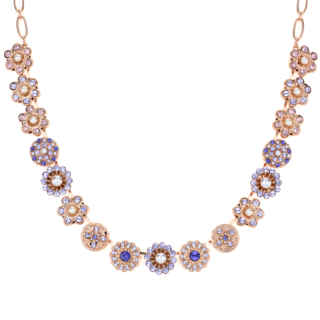 "Extra Luxurious Rosette Necklace in ""Romance"" *Preorder*"