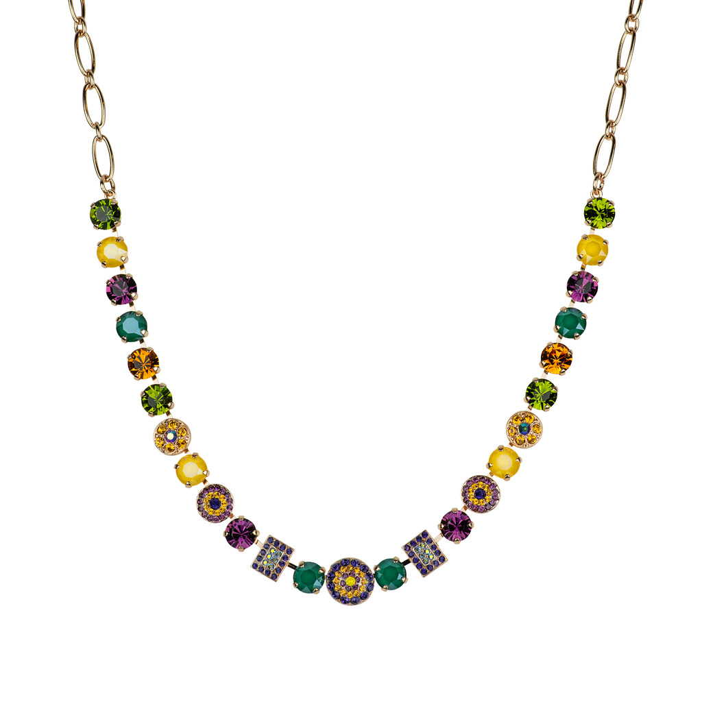 "*Preorder* Must-Have Rosette Necklace in ""Holiday Lights"""