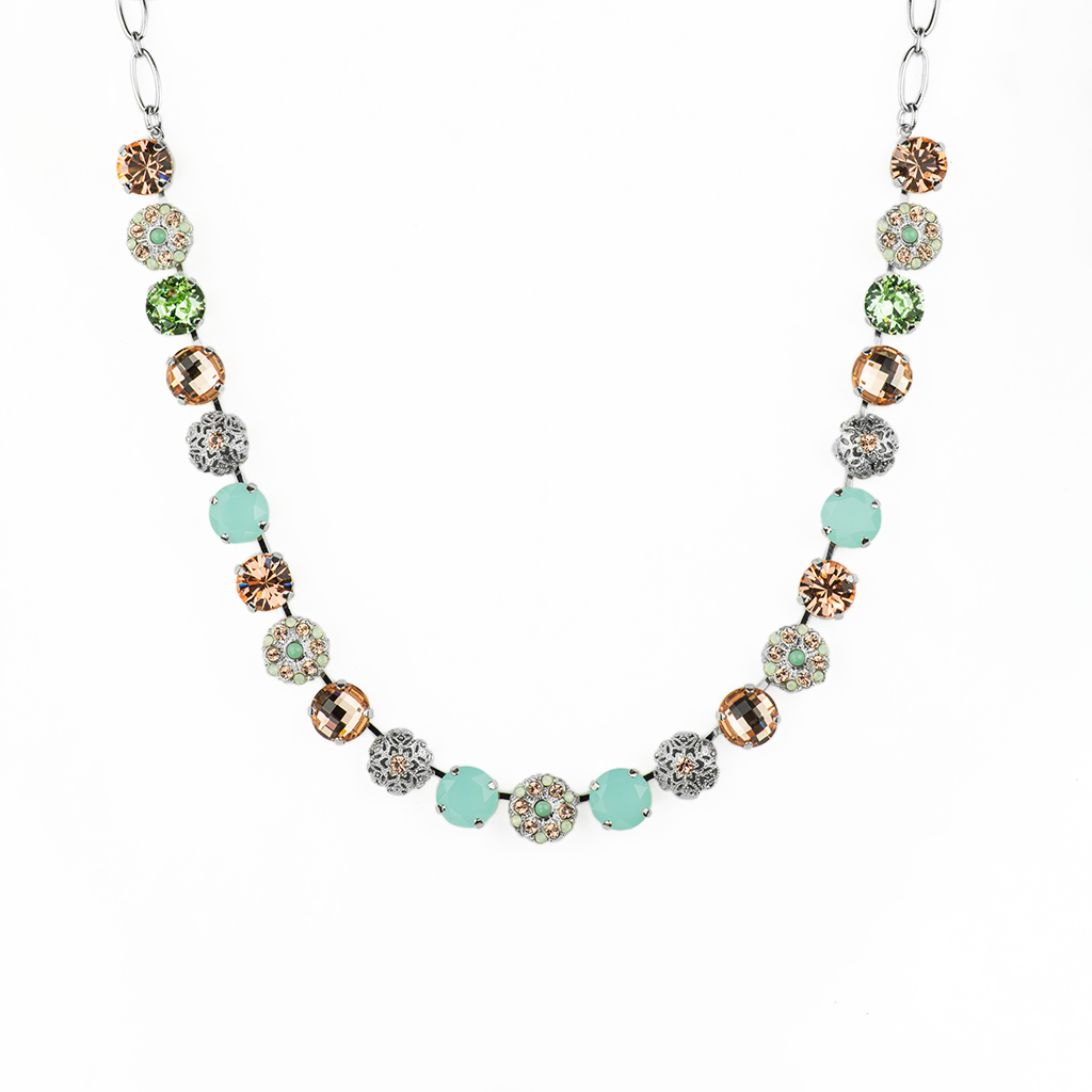 "Lovable Embellished Necklace in ""Monarch"" *Preorder*"