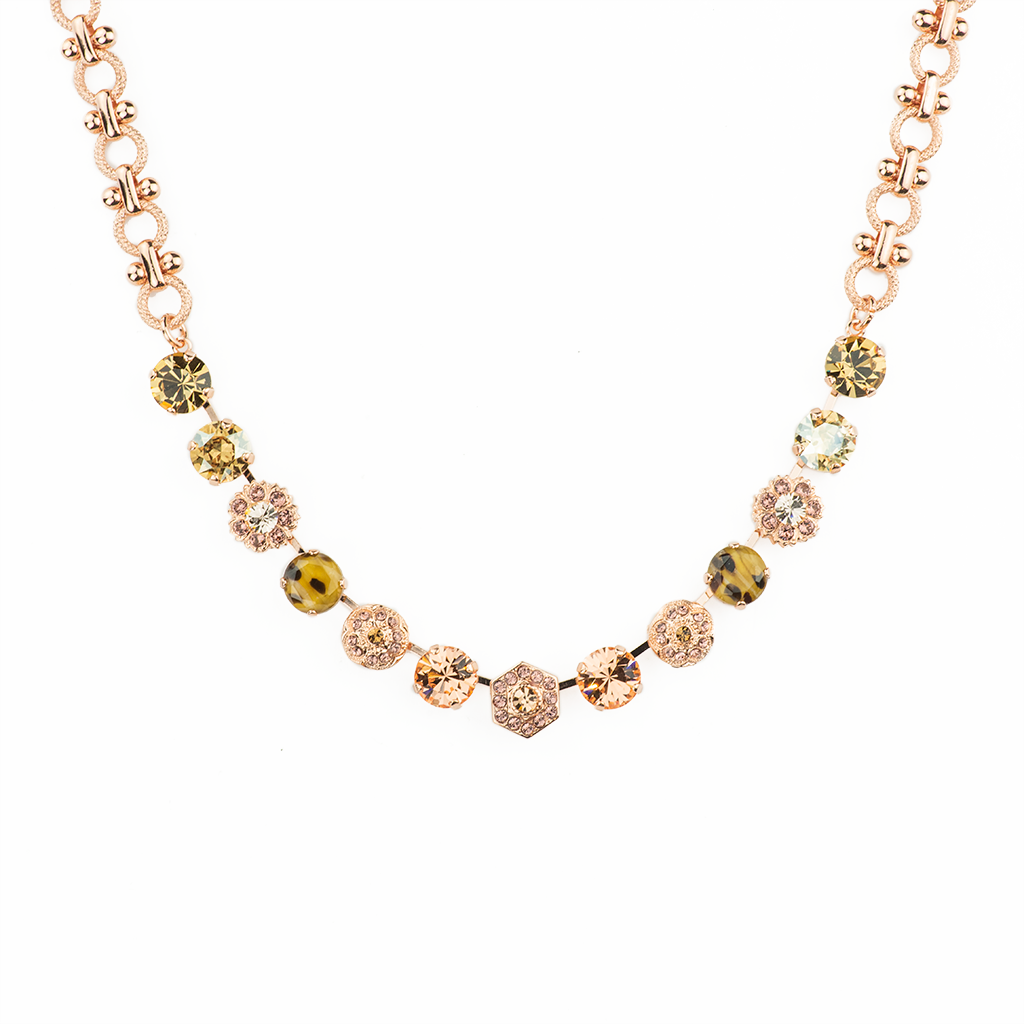 "Lovable Cluster Necklace in ""Meadow Brown"" *Preorder*"