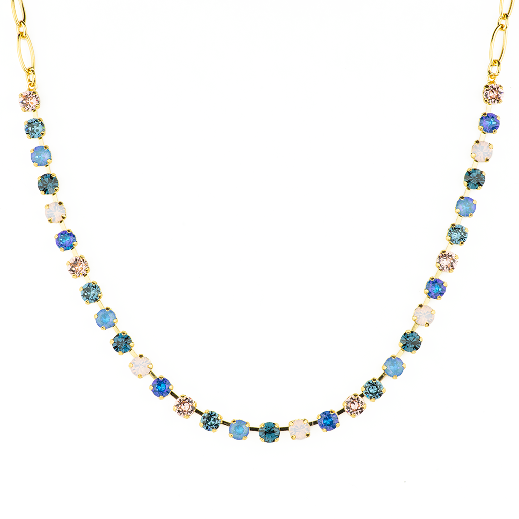 "Petite Everyday Necklace in ""Blue Morpho"" *Preorder*"