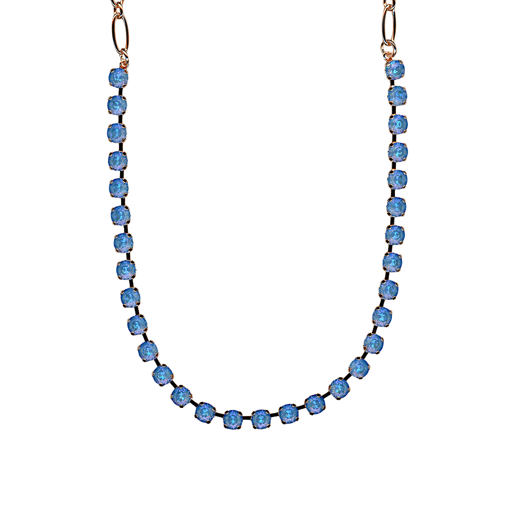 "Petite Everyday Necklace in Sun-Kissed ""Ocean"" *Preorder*"
