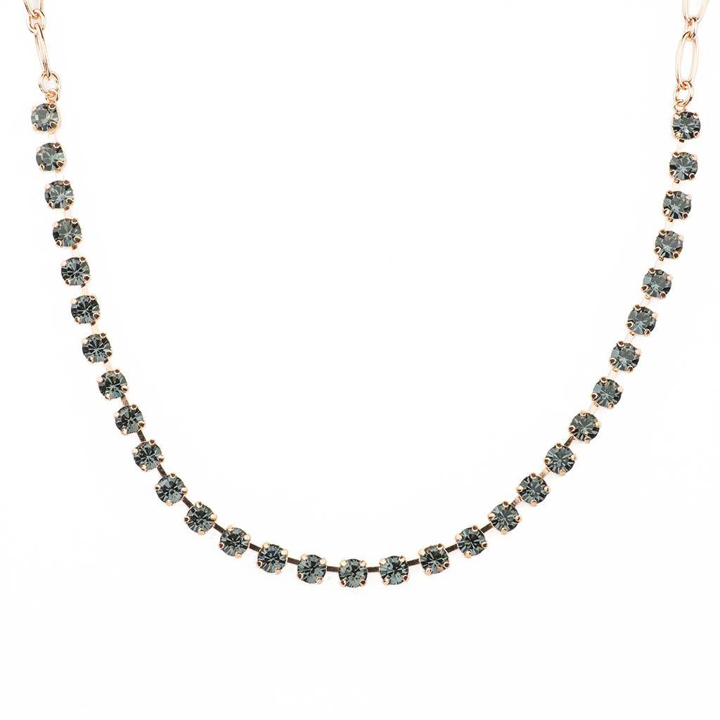 "Petite Everyday Necklace in ""Silver Night"" *Preorder*"