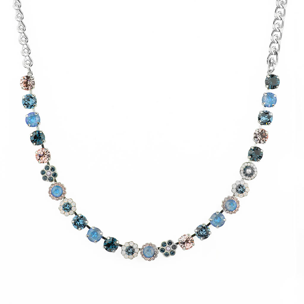 "Must-Have Rosette Necklace in ""Blue Morpho"" *Preorder*"