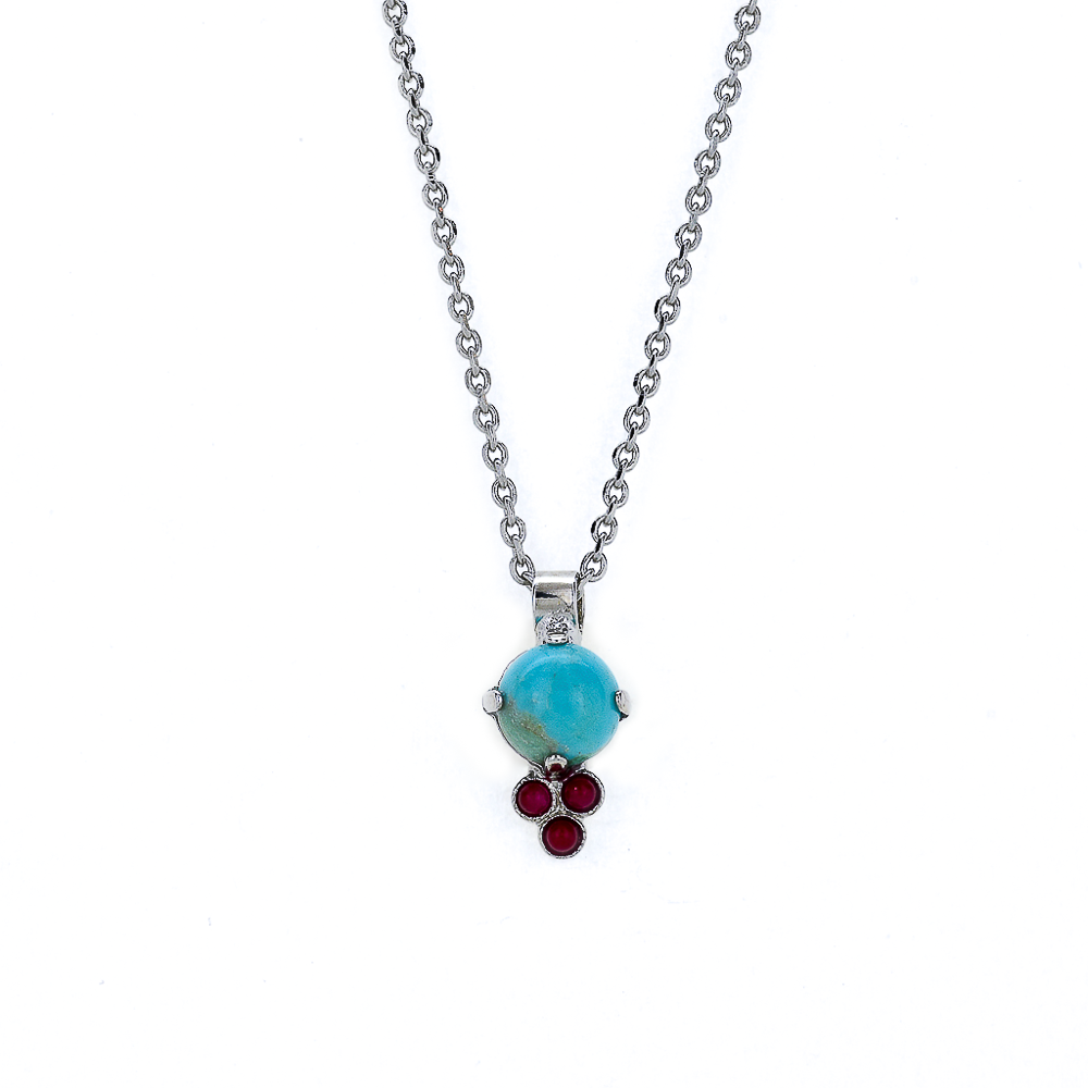 "Must-Have Pendant in ""Happiness-Turquoise"" *Preorder*"