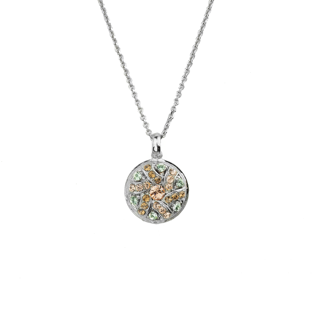 "*Preorder* Pave Cluster Pendant with Tree of Life in ""Monarch"""