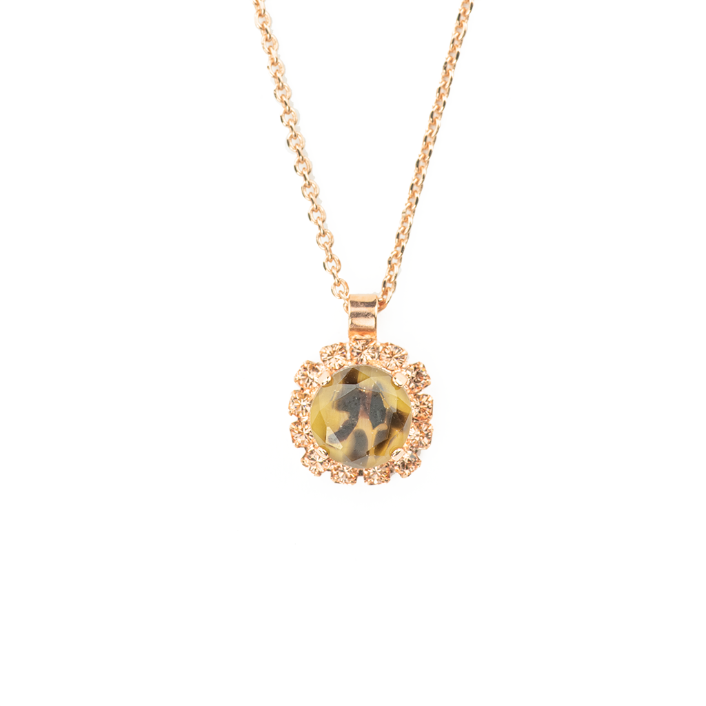 "Cheetah Cluster Pendant in ""Meadow Brown"" *Preorder*"