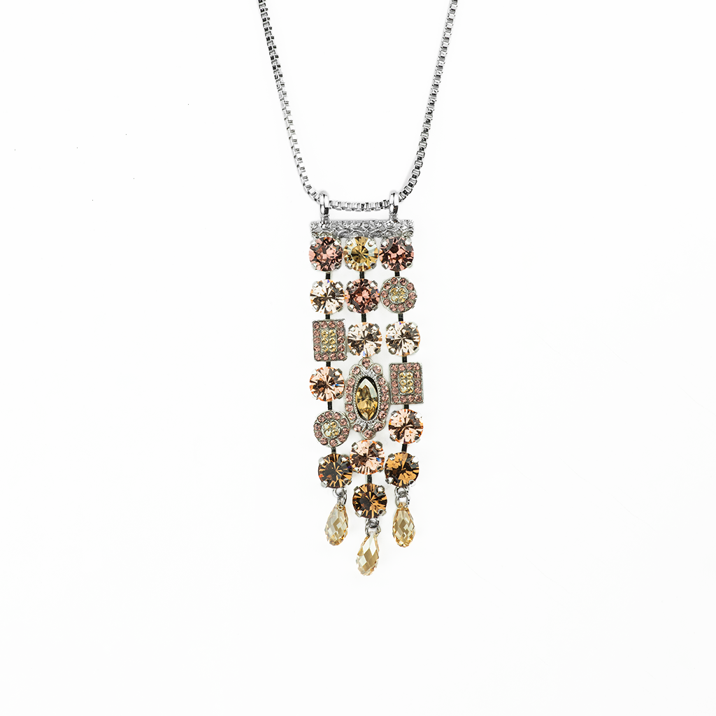 "*Preorder* Waterfall Pendant in ""Meadow Brown"""