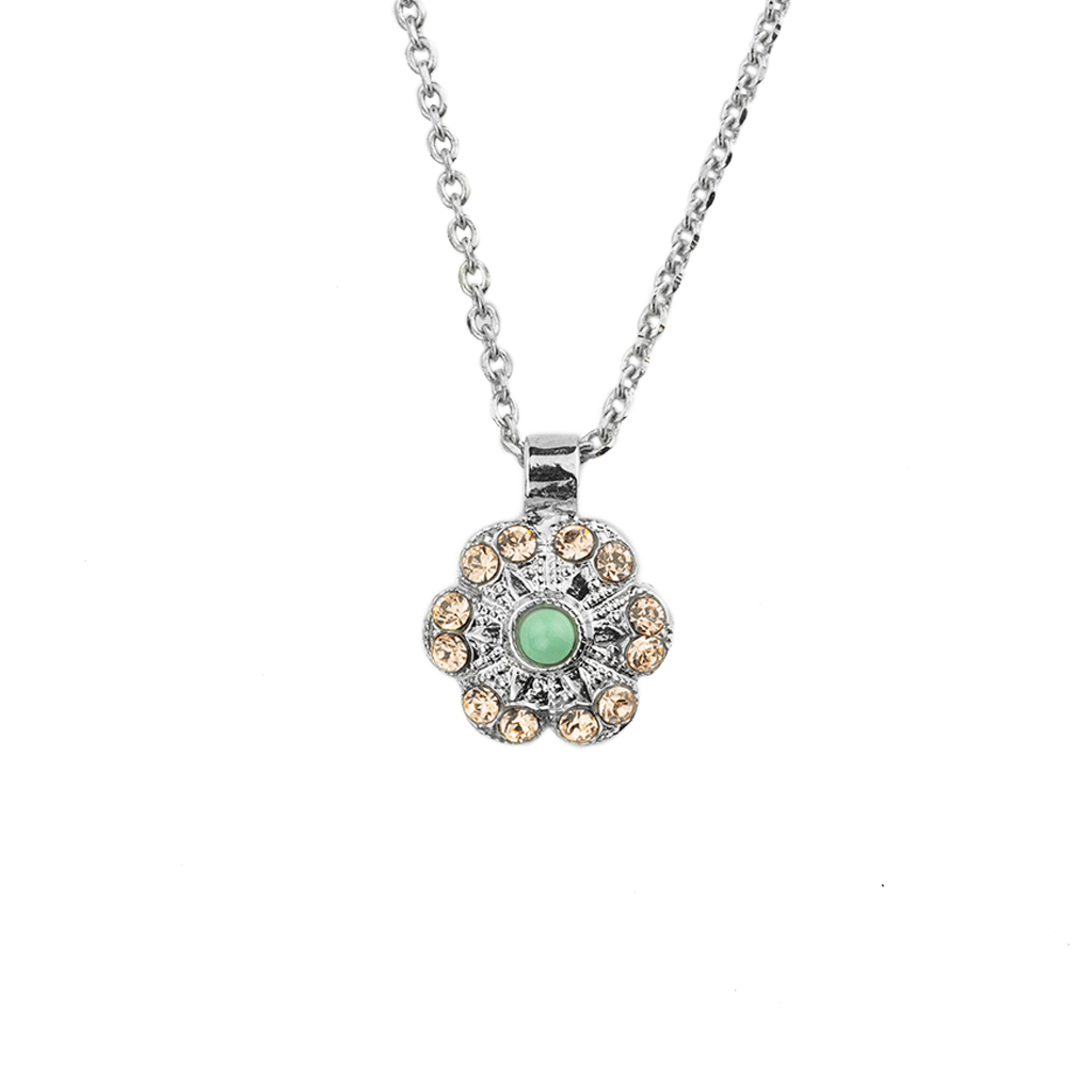 "*Preorder* Lovable Flower Leverback Pendant in ""Monarch"""