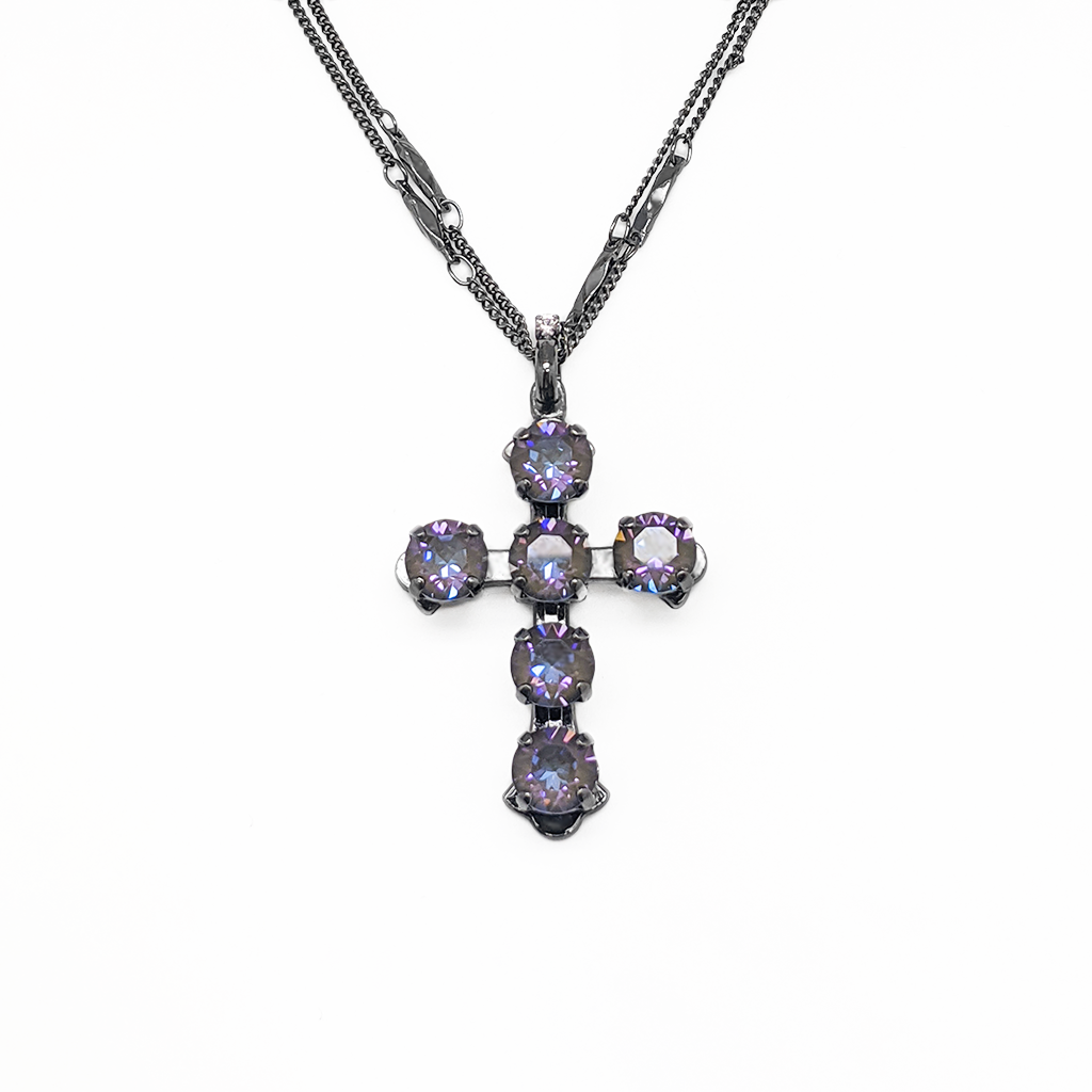 "*Preorder* Must Have Cross Pendant in Sun-Kissed ""Midnight"""