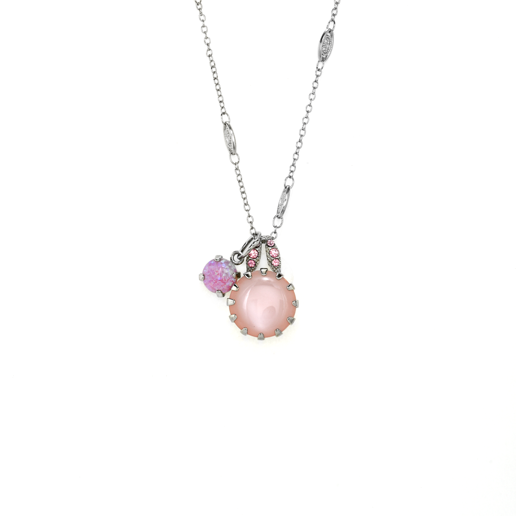 "Double Stone Lovable Pendant in ""Love"" *Preorder*"