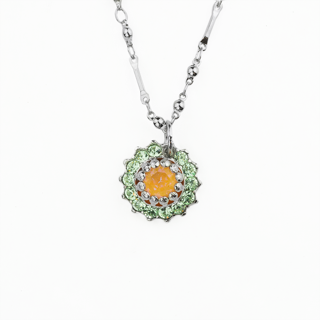 "Must-Have Rosette Flower Pendant in ""Monarch"" *Preorder*"