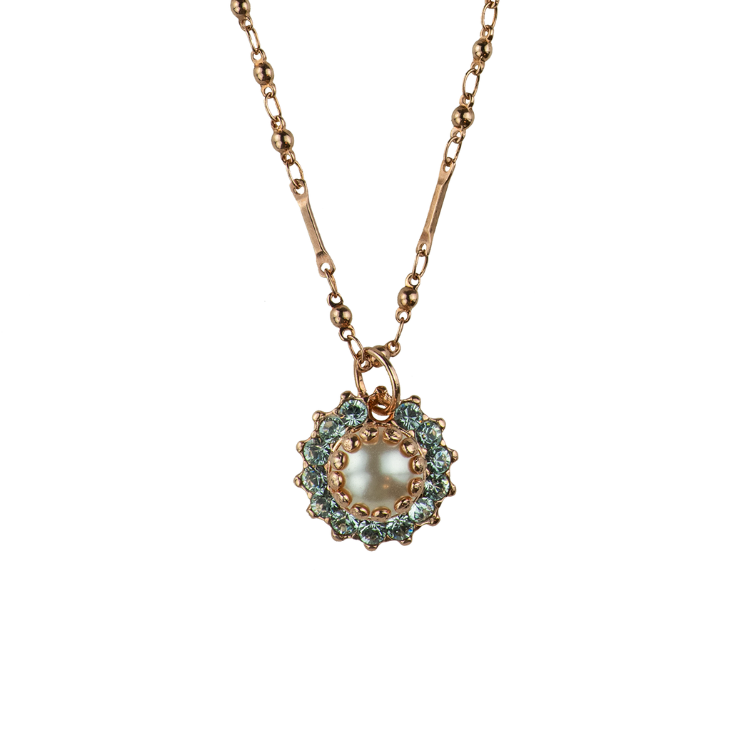 "[Rose Gold] Must-Have Flower Rosette Pendant ""Seashell"""