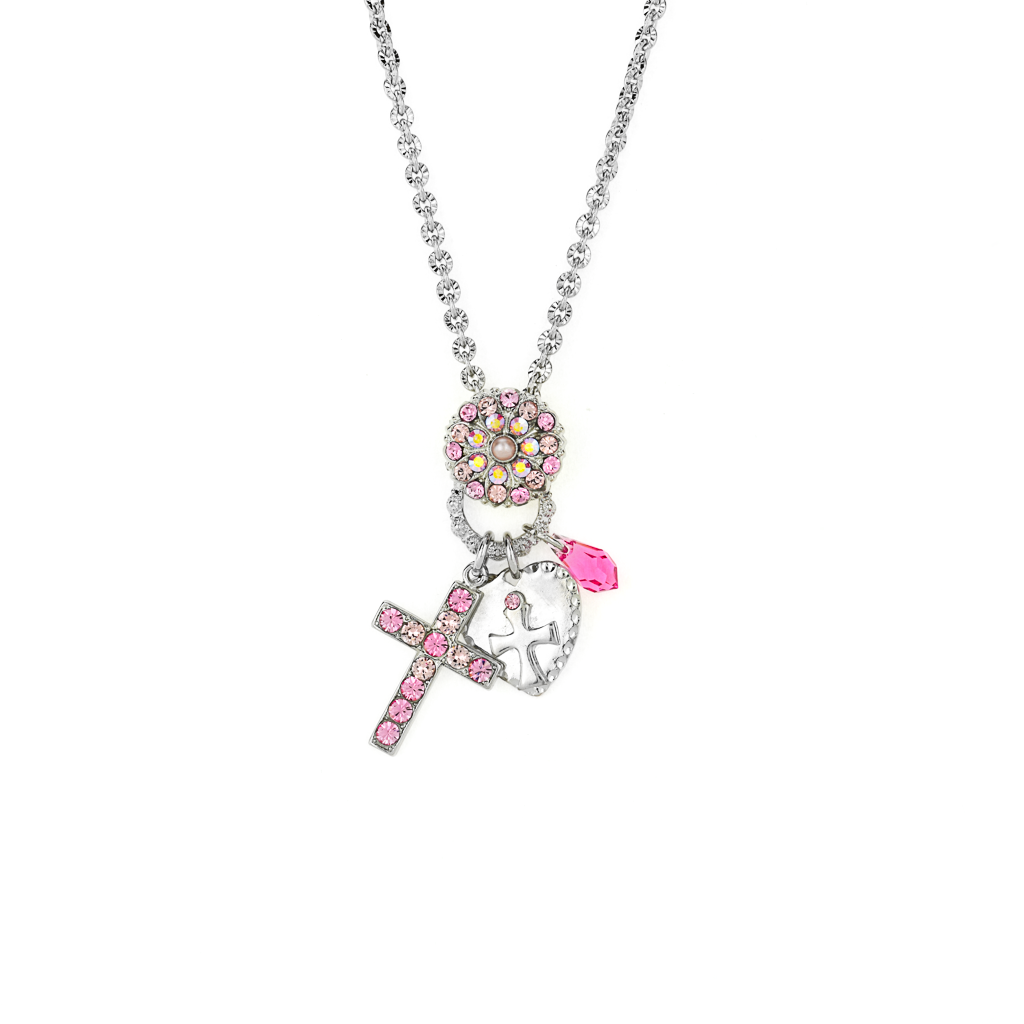 "Cross Charms Pendant in ""Love"" *Preorder*"