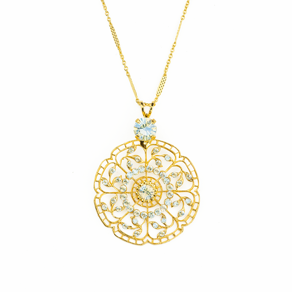 "Filigree Pendant in ""Crystal Moonlight"" *Preorder*"