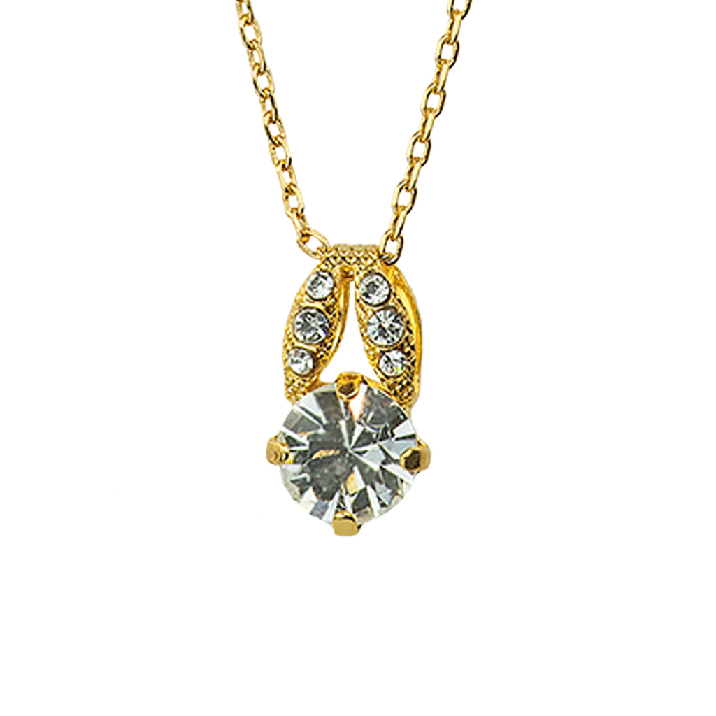 "[Yellow Gold] Sweetheart Pendant ""On A Clear Day"""
