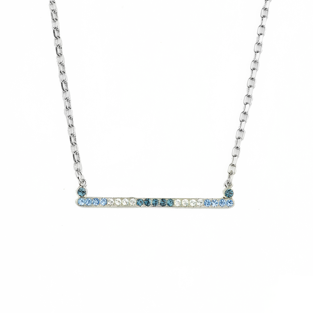 "Horizontal Bar Pendant in ""Night Sky"" *Preorder*"