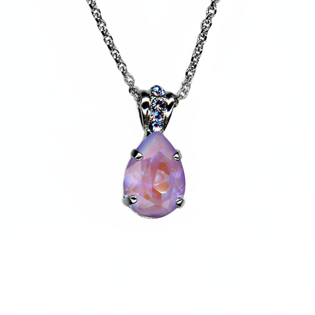 "Pear Pendant in Sun-Kissed ""Lavender"" *Preorder*"