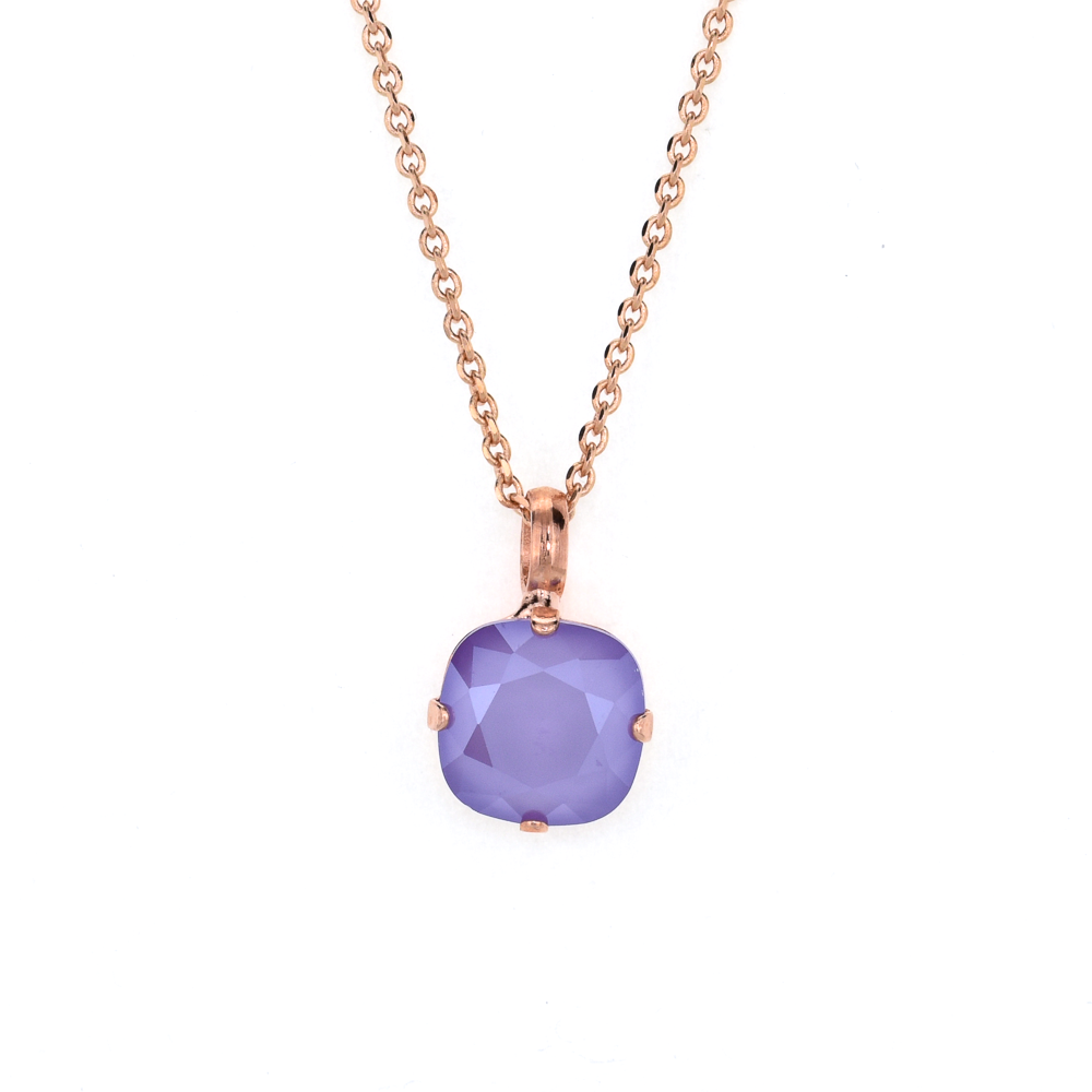 Cushion Cut Pendant in Lavender *Preorder*